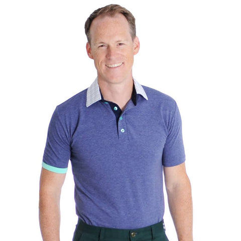 2015 PGA Titan Polo - Alial Fital American made polos for men - 1