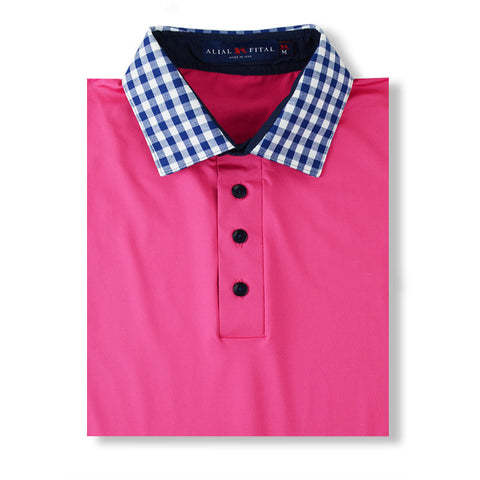 Pink Blossom Polo