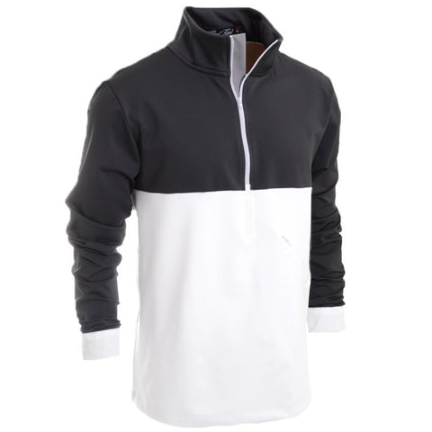 Pulitzer Zip Up - Alial Fital American made polos for men - 1