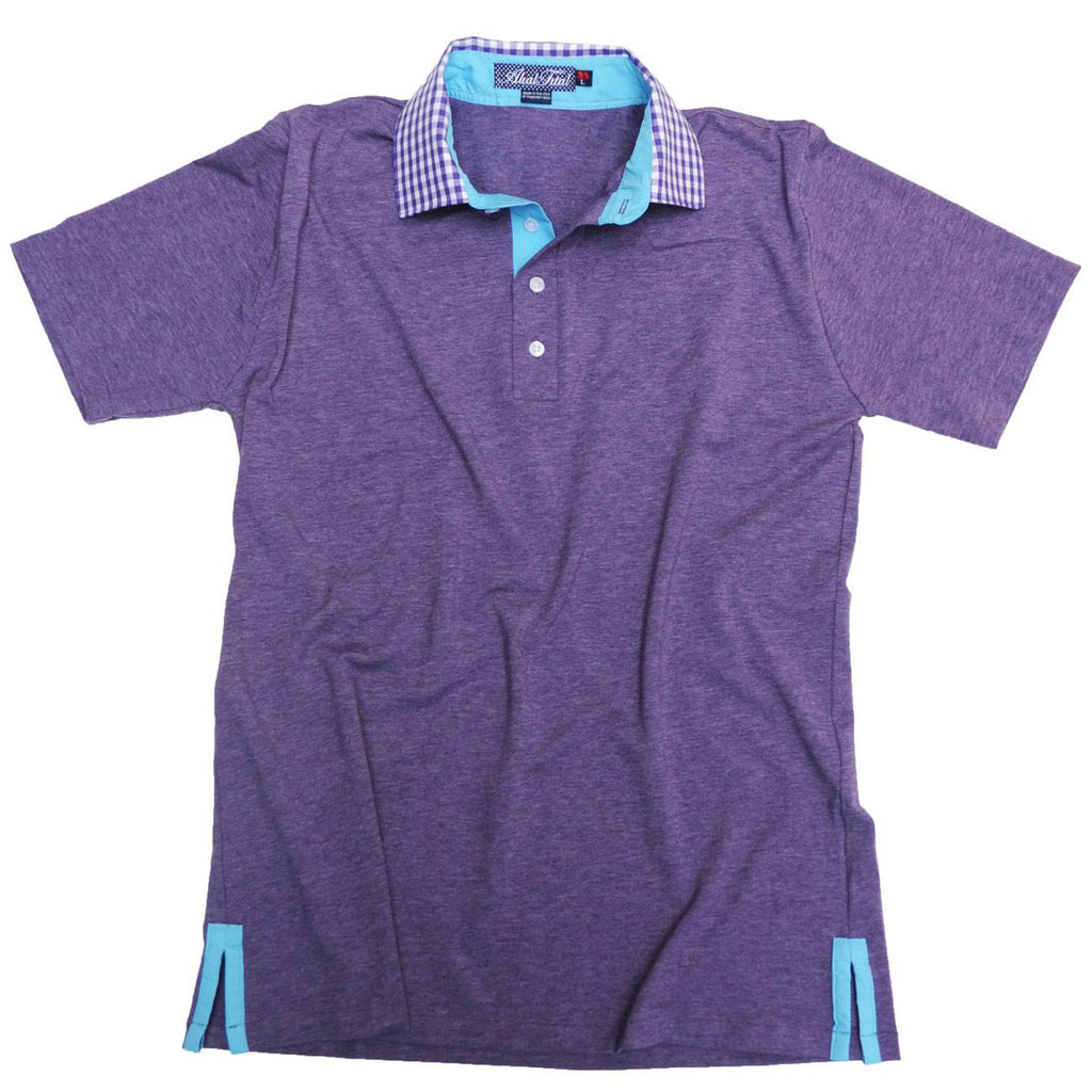 Expect the World Polo - Alial Fital American made polos for men - 1