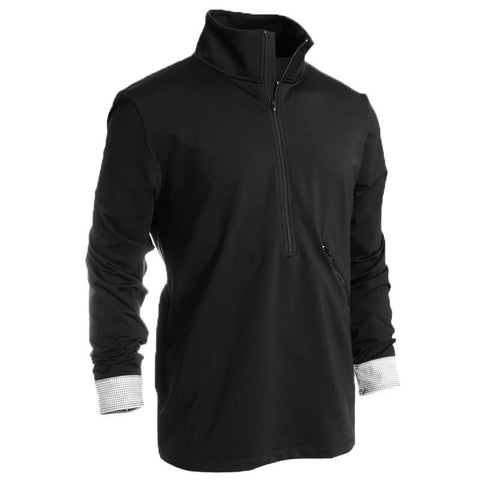 Rhone Lyon Zip Up - Alial Fital American made polos for men - 1