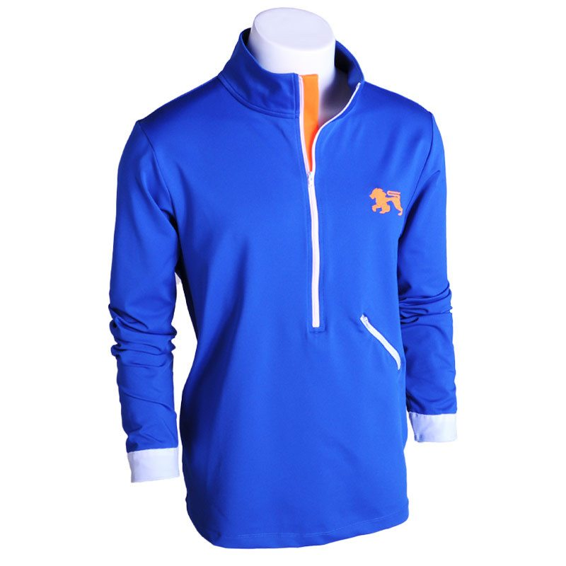 Spyglass Half Full Zip Up - Alial Fital American made polos for men - 1