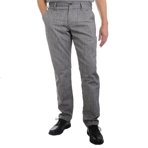 Thunder Grey Pant - Alial Fital American made polos for men - 1