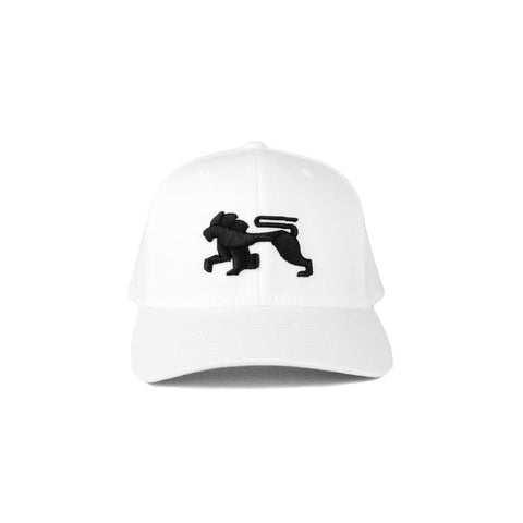 White Black.Lions Ballcap