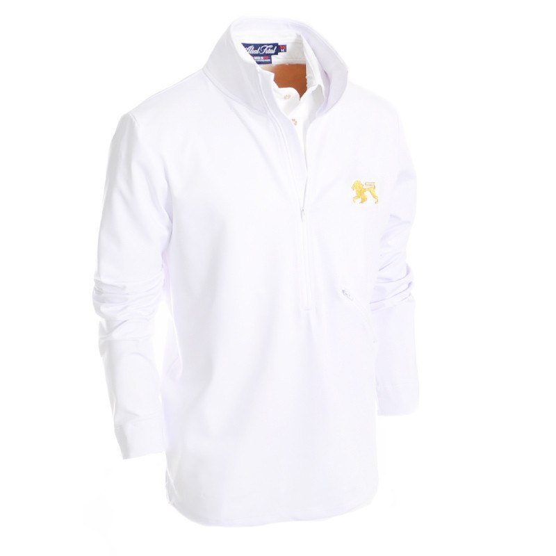 Wimbledon 2015 Zip Up - Alial Fital American made polos for men - 1