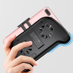 Baseus 4-6 inch Mobile Phone Game Handle Holder Radiator With Cooling Fan Built-in 2000mAh PowerBank