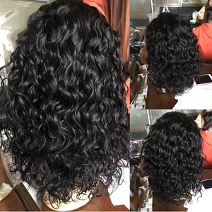 January 2019 Lace Front Wigs Natural Wave Black Short Bob Wig