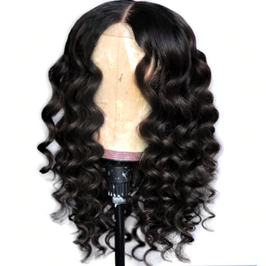 January 2019 Curly Lace Front Lace Hair Wigs For Women Peruvian