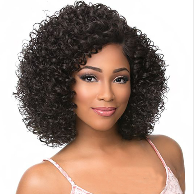 January 2019 Short Hair Wigs For Black Curl
