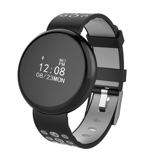 LYNWO I8 0.66 inch Round Screen Blood Oxygen Pressure Heart Rate Monitor Fitness Tracker Smart Watch