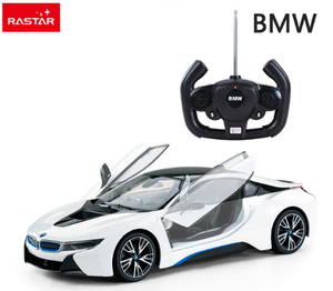 Rastar licensed rc car R/C 1:14 BMW I8 battery operated vehicle toys drift remote control rc car for collection 71060