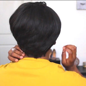 Short Summer Autumn BOB  Straight hair