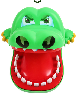 Big Mouth Crocodile Bite Finger Toy