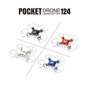 FQ777-124 Pocket Drone 4CH 6Axis Gyro Drone Quadcopter With Switchable Controller RTF