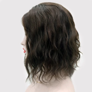 SUMMER NEW WAVE HAIR TOPPER NATURAL HAIR 45% OFF TODAY !!