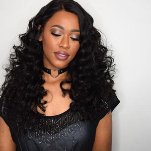 Brazilian Virgin Hair Loose Wave 3 Bundles Free Shipping  8 reviews