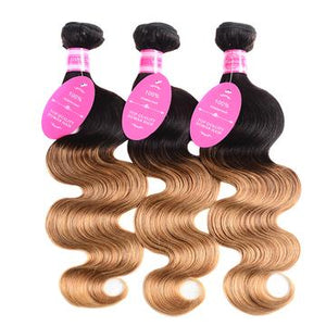 3 Bundles Ombre Body Wave Human Virgin Hair