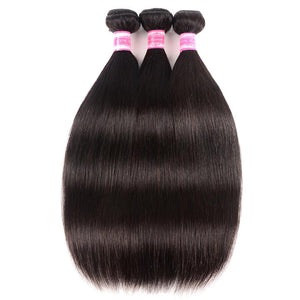 Brazilian Virgin Hair Silky Straight 4 Bundles Free Shipping  2 reviews