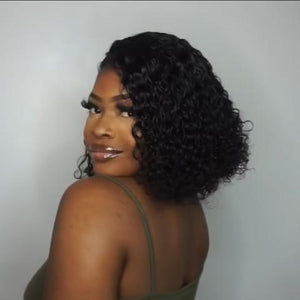JANUARY 2019- HOT SALE—LACE FRONT CURLY WAVE WIG