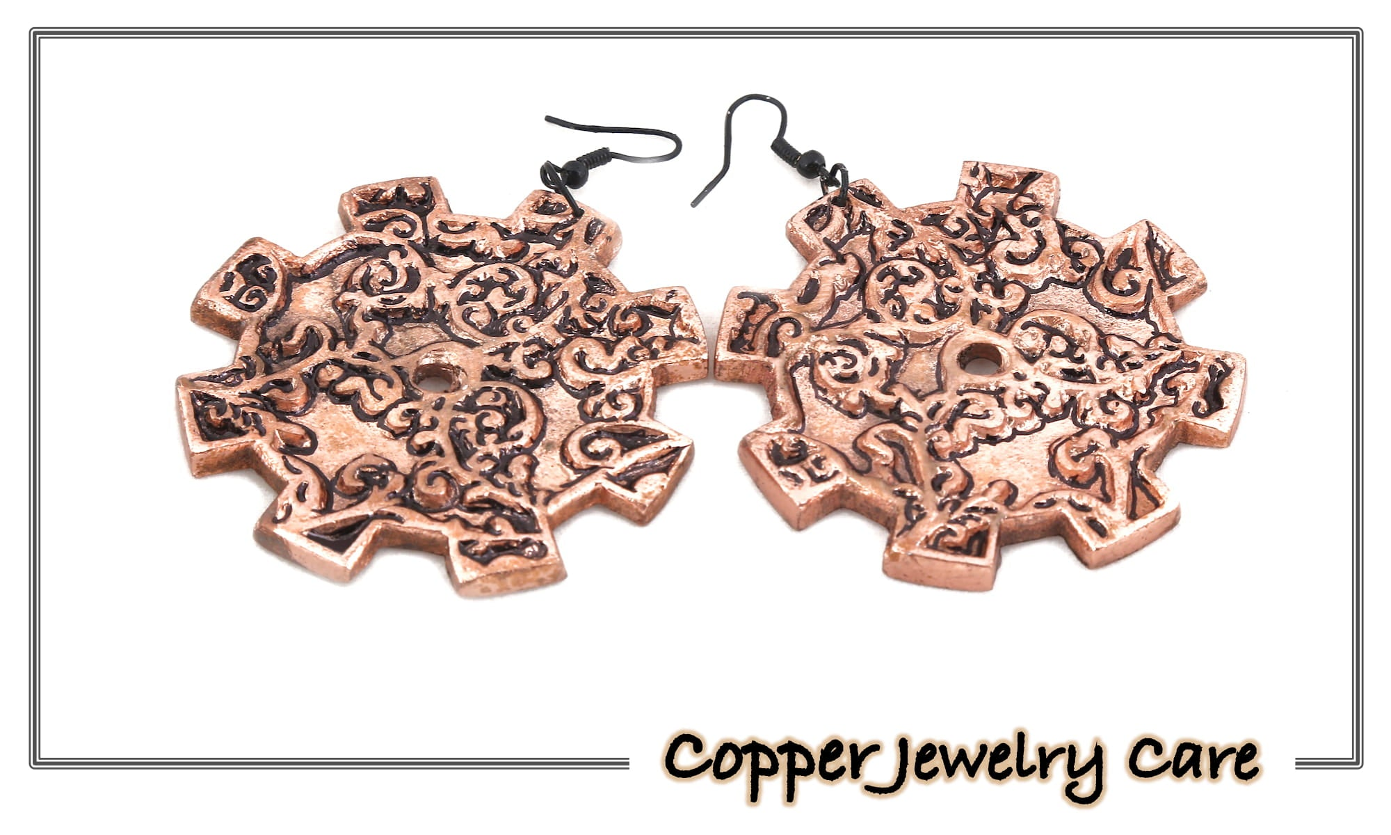 Clean, Care & Store Your Copper Jewelry