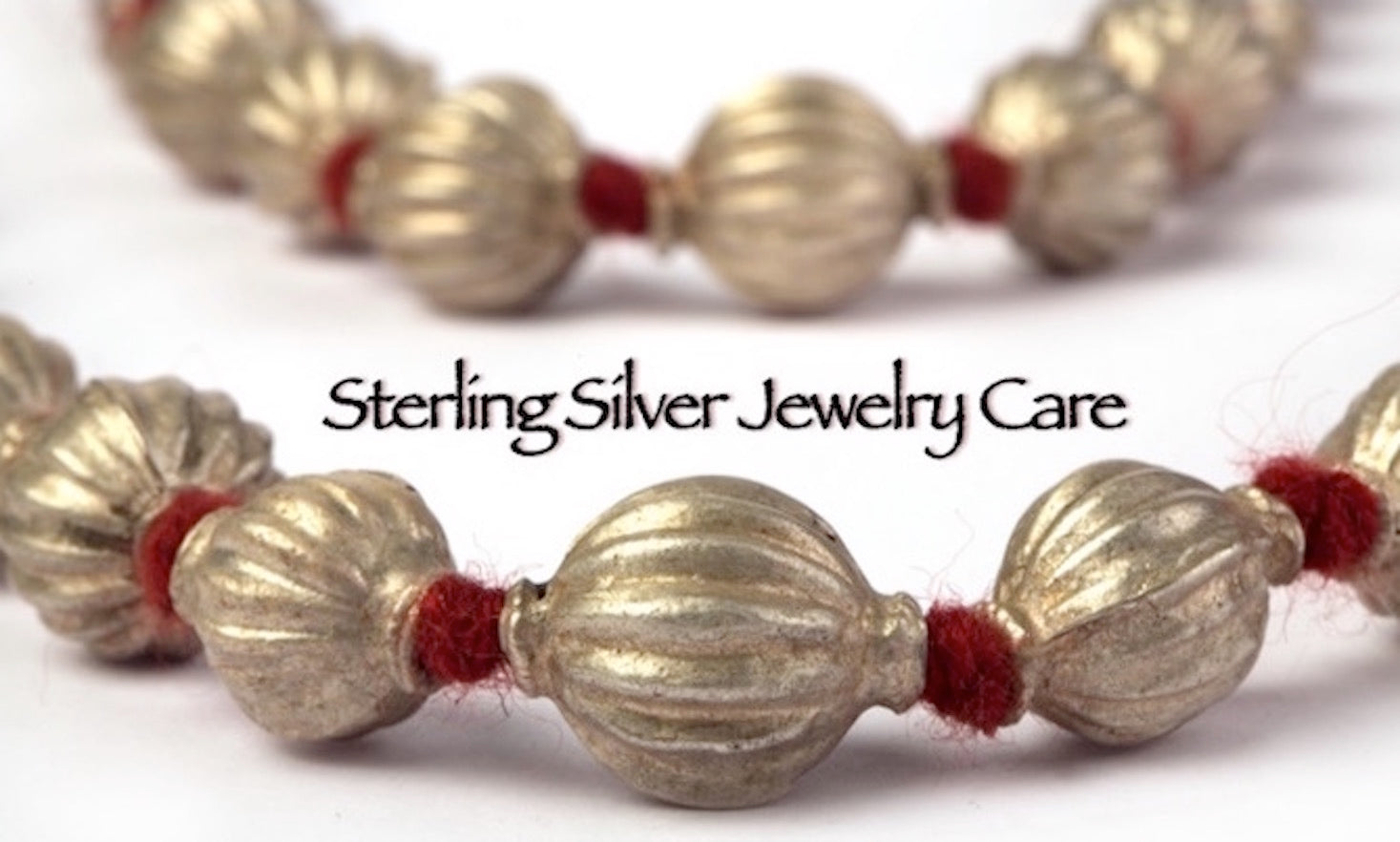 Sterling Silver Jewelry Care