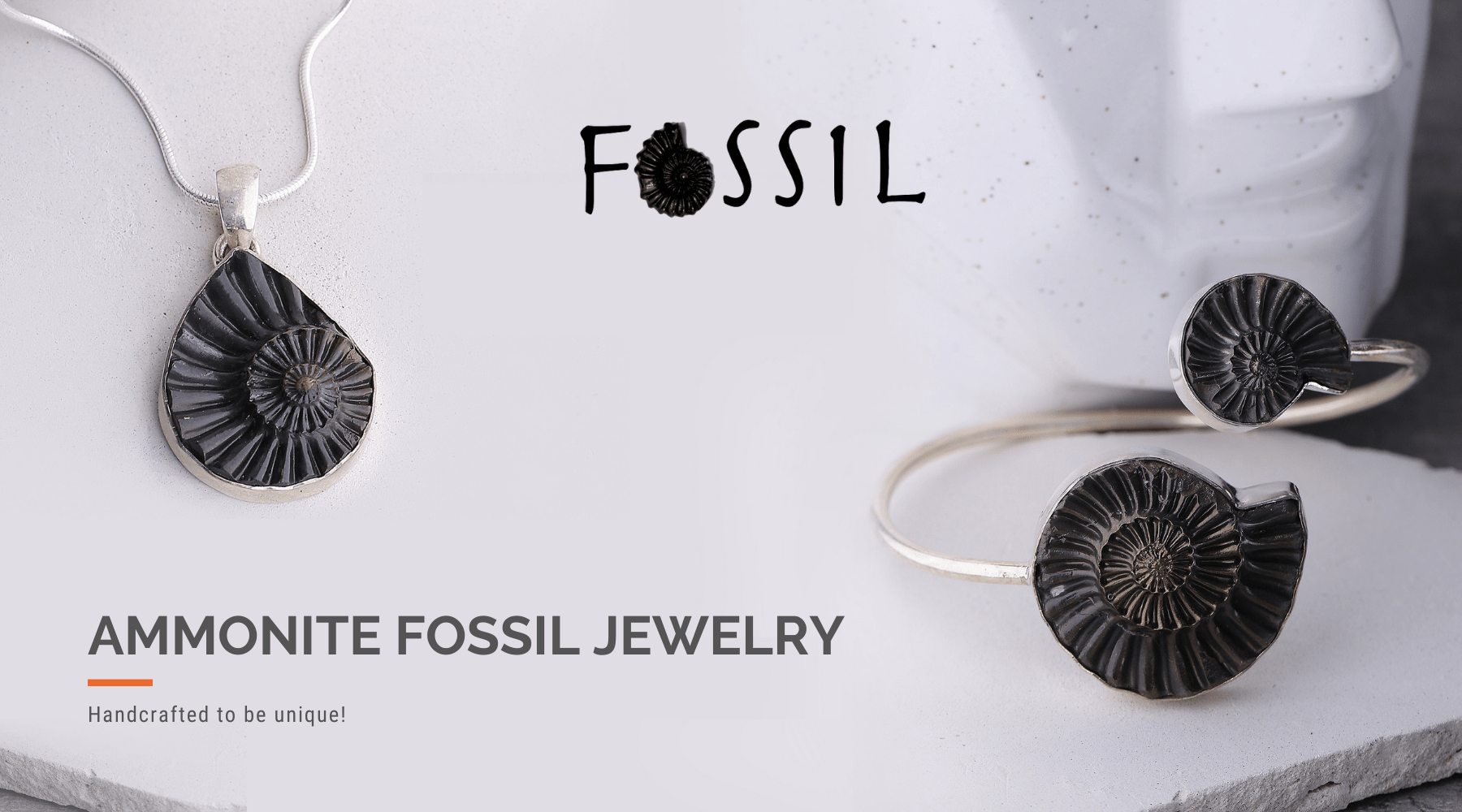 Fossil Jewelry - New collection by Nirwaana