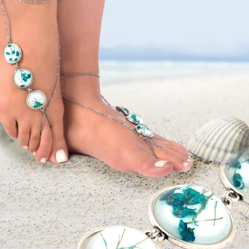 Jewelry Barefoot Sandals by Nirwaana