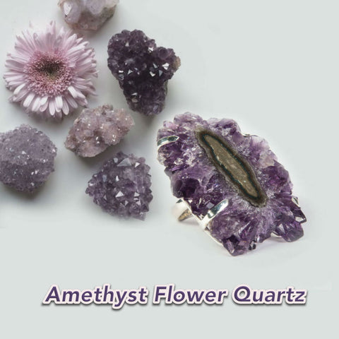 Amethyst Cluster Druzy Collection