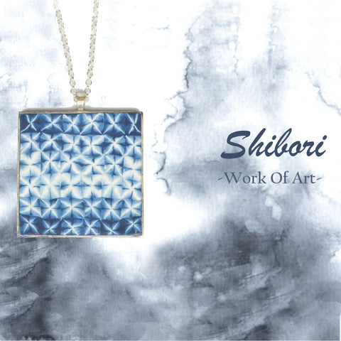 Shibori Clay Jewelry Collection