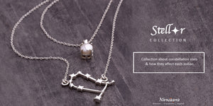 Zodiac based birthstone collection 'Stellar' by Nirwaana