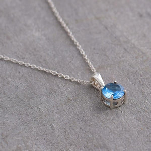 Sagittarius Birthstone Necklace