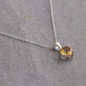 Scorpio birthstone necklace