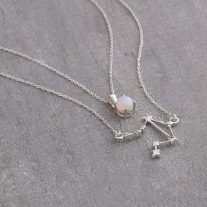 Libra layered necklace