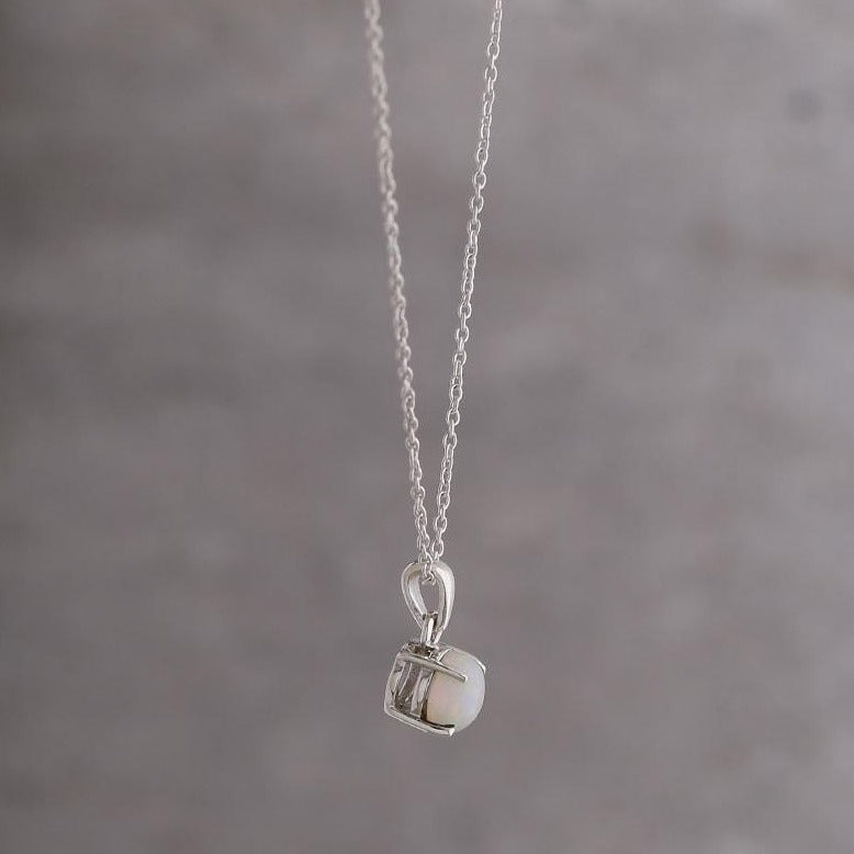 Libra birthstone necklace