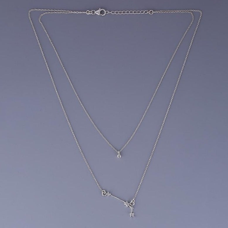 Aries double layered necklace
