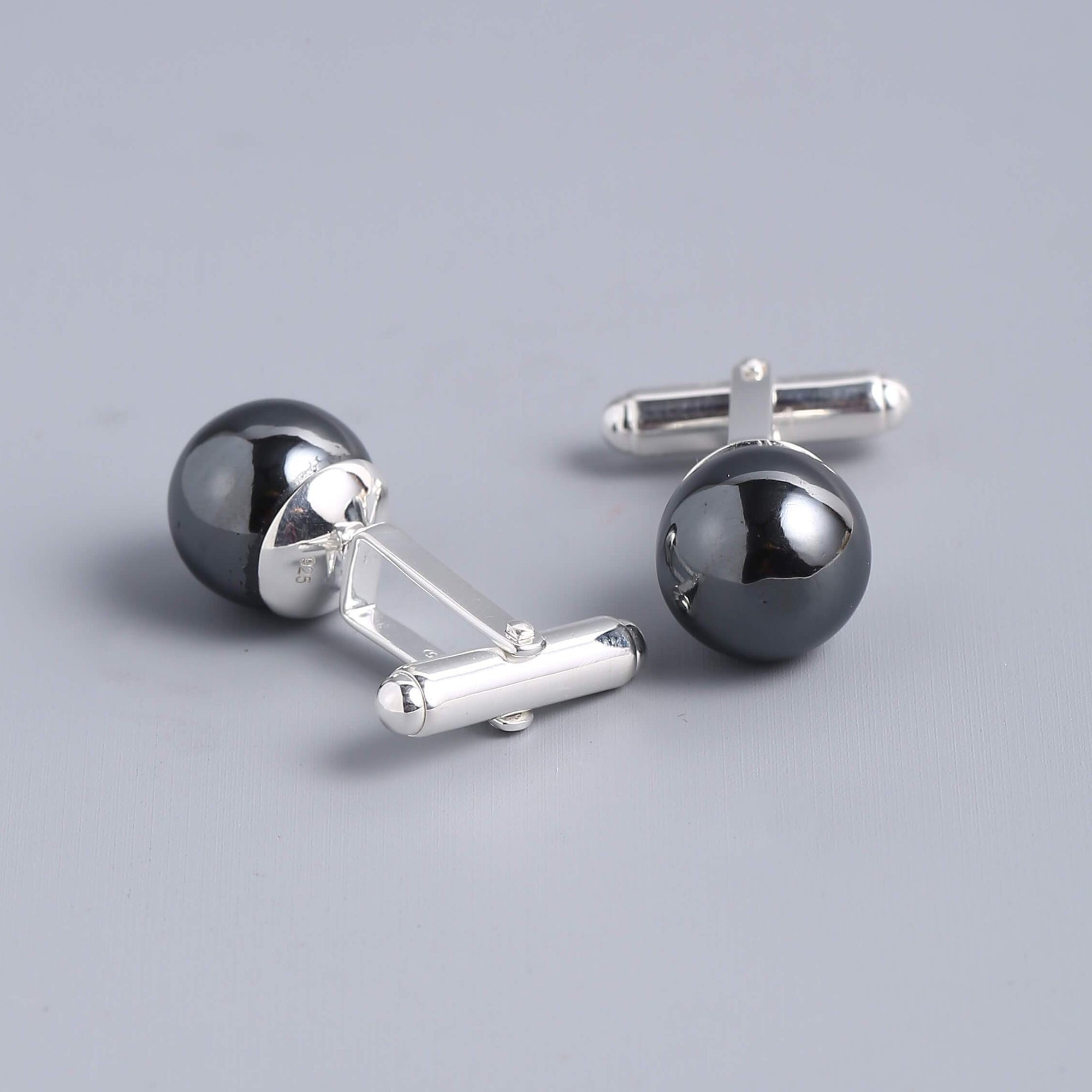Hematite Cufflinks For Men