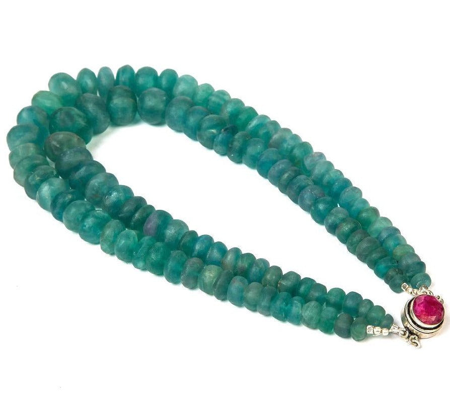 Beaded Beauty - Green Fluorite