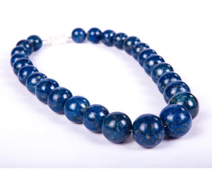 Beaded Riviere - Blue Lapis neckpiece