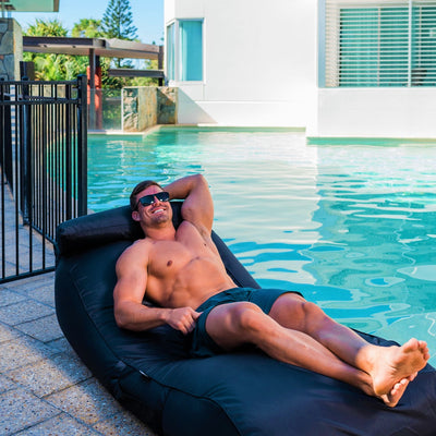 The Resort Byron Daybed  | Outdoor Bean Bag - Epona Co. Lifestyle Indoor and Outdoor Bean Bags