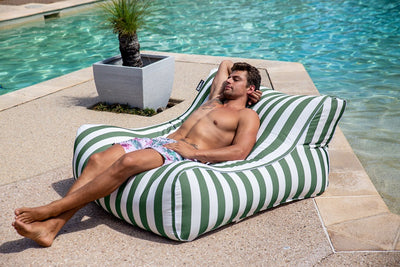The Resort Lounger | Outdoor Bean Bag | New Superior Fabric - Epona Co. Lifestyle Indoor and Outdoor Bean Bags