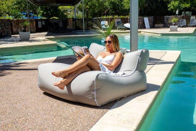 The Resort Lounger | Outdoor Bean Bag | NEW SUPERIOR FABRIC |AVAILABLE NOW! - Epona Co. Lifestyle Indoor and Outdoor Bean Bags