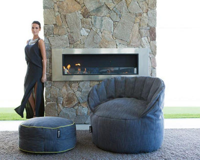 Jaffa Chair | Indoor Bean Bag - Ottoman Sold Separately - Epona Co. Lifestyle Bean Bags
