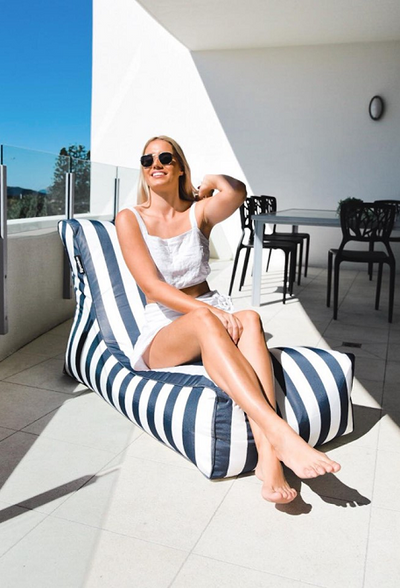 THE RESORT SUNLOUNGER | Outdoor Bean Bag - Epona Co. Lifestyle Indoor and Outdoor Bean Bags