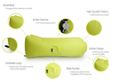 Epona Co. Outdoor Bean Bag Range CloudSac Air Lounger Breakout Image