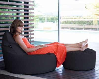 Epona Co. Outdoor Bean Bag Range The Zen Chair UV Charcoal