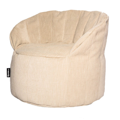 Epona Co. Indoor Bean Bag Range Jaffa Bean Bag Chair Linen