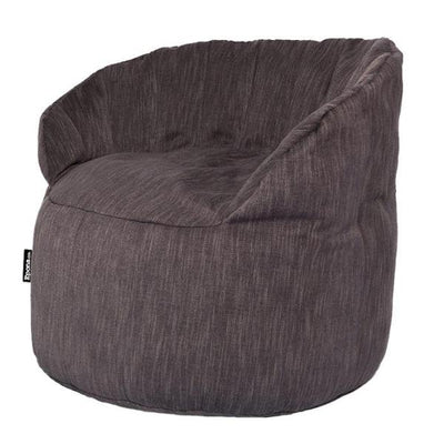 Epona Co. Indoor Bean Bag Range Jaffa Bean Bag Chair Ash