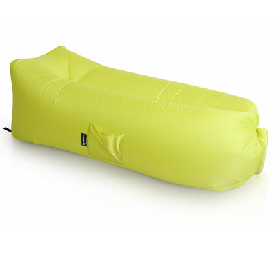 indoor outdoor bean bags, sunproof, olefin material, premium and luxury CloudSac Air Lounger Citrus