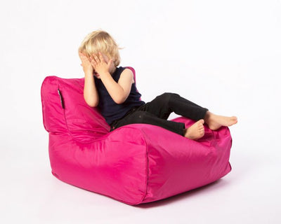 Epona Co. Indoor Bean Bags Kids Range Pink premium luxury olefin material