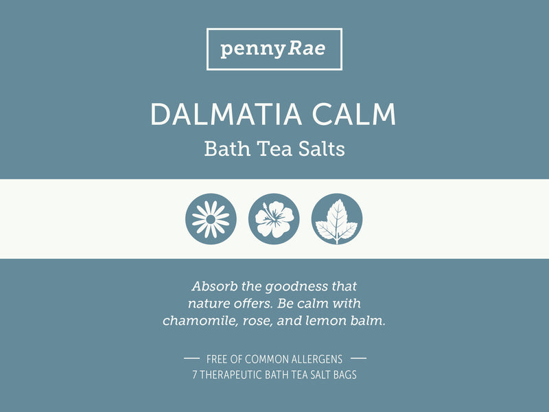 Dalmatia Calm Bath Tea Salts